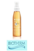 Biotherm Huile Solaire Soyeuse SPF 15 Silky Nutritive Sun Oil Non-Sticky Texture - Sublimated Tan