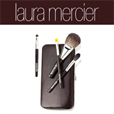 Laura Mercier Touch Up Brush Clutch For Eyes & Cheeks