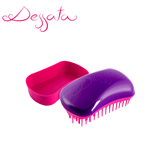 Dessata Purple-Fuchsia Detangling Brush