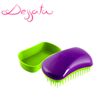 Dessata Purple-Lime Detangling Brush