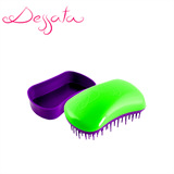 Dessata Green-Purple Detangling Brush