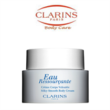 Clarins Eau Ressourcante Silky-Smooth Body Cream Moisturizes Scents Rebalances