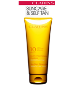 Clarins Sun Care Cream-Gel Moisturizes, Age-Control Low Protection SPF 10