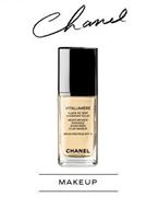 Chanel Vitalumiere Moisture-Rich Radiance Sunscreen Fluid Makeup Broad Spectrum SPF 15
