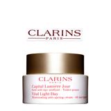 Clarins Vital Light Day Illuminating Anti-Ageing Cream – All Skin Types