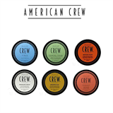 American Crew Fiber, Cream, Clay, Paste, Pomade