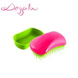 Dessata Fuchsia-Lime Detangling Brush