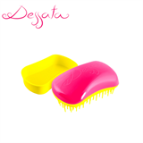 Dessata Fuchsia-Yellow Detangling Brush