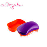 Dessata Purple-Tangerine Detangling Brush