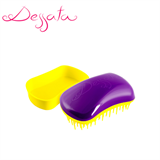 Dessata Purple-Yellow Detangling Brush