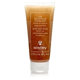 Sisley Gel Nettoyant Gommant Buff and Wash Botanical Facial Gel
