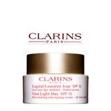 Clarins Vital Light Day SPF 15 Illuminating Anti-Ageing Cream – All Skin Types