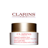 Clarins Vital Light Day Illuminating Anti-Ageing Comfort Cream – Dry Skin