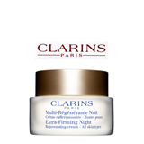 Clarins Extra-Firming Night Rejuvenating Cream – All Skin Types
